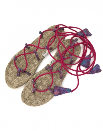 Natural Handmade Comfortable Fashionable Lace Sandal