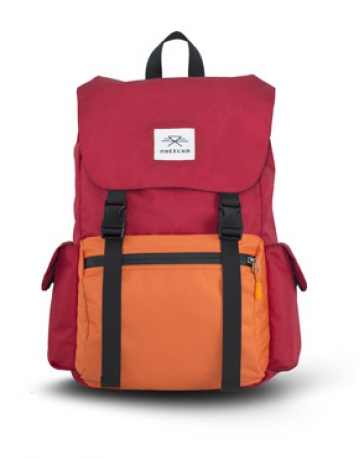 Boulder Red/ Orange Backpack