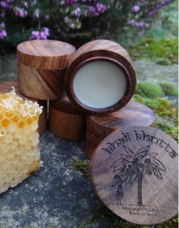 Beeswax and Apricot Lip Balm