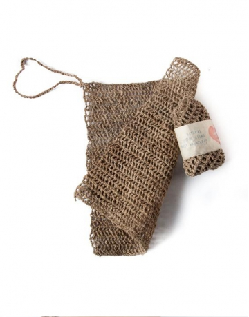 "Eco Friendly, Nettle ""Allo"" Body Wash Cloth"