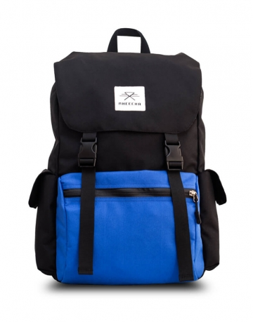 Boulder Black/ Blue Backpack