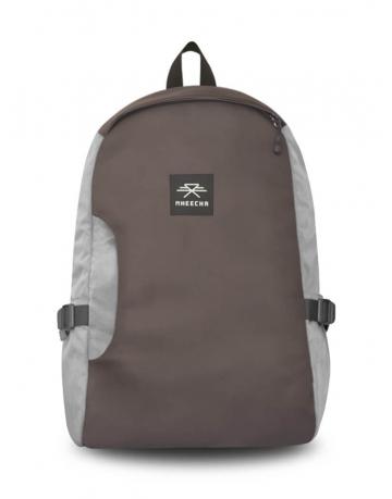 Infinity Grey/ Brown Backpack