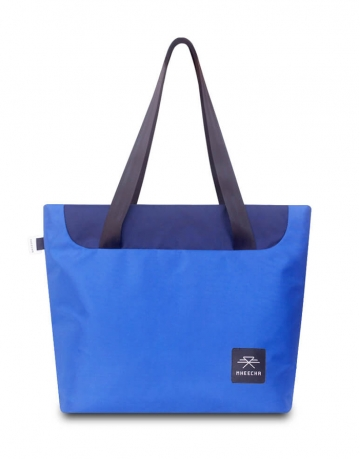 Meander Tote Blue/ Navy Blue Bag